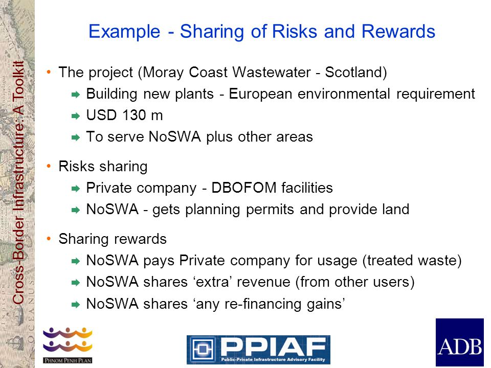 Example - Sharing of Risks and Rewards