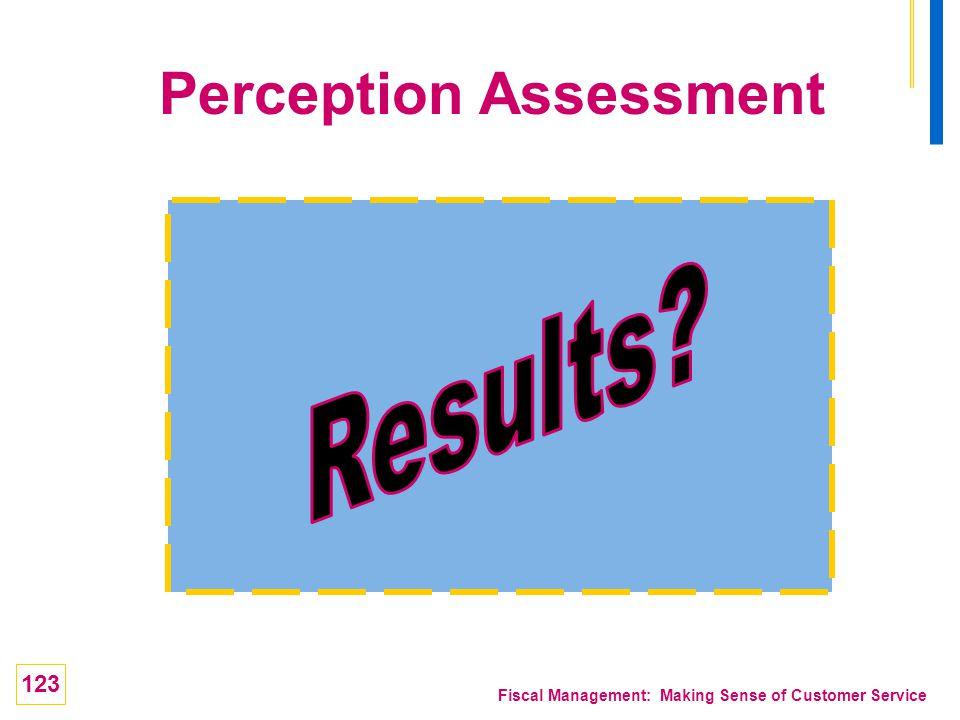 Perception Assessment