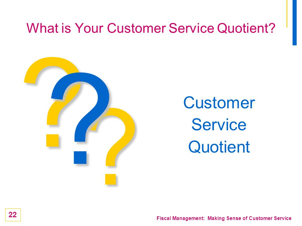 What is Your Customer Service Quotient