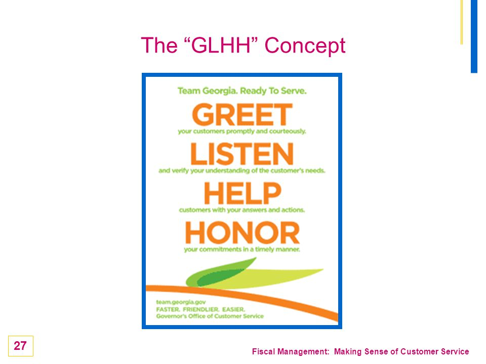 The GLHH Concept