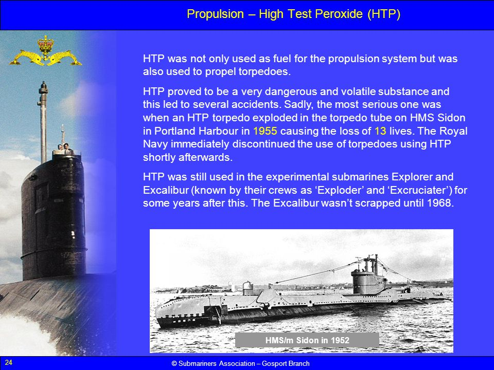 Propulsion – High Test Peroxide (HTP)