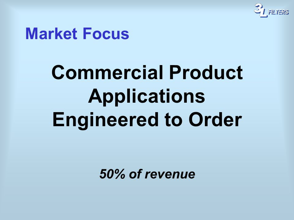 Commercial Product Applications