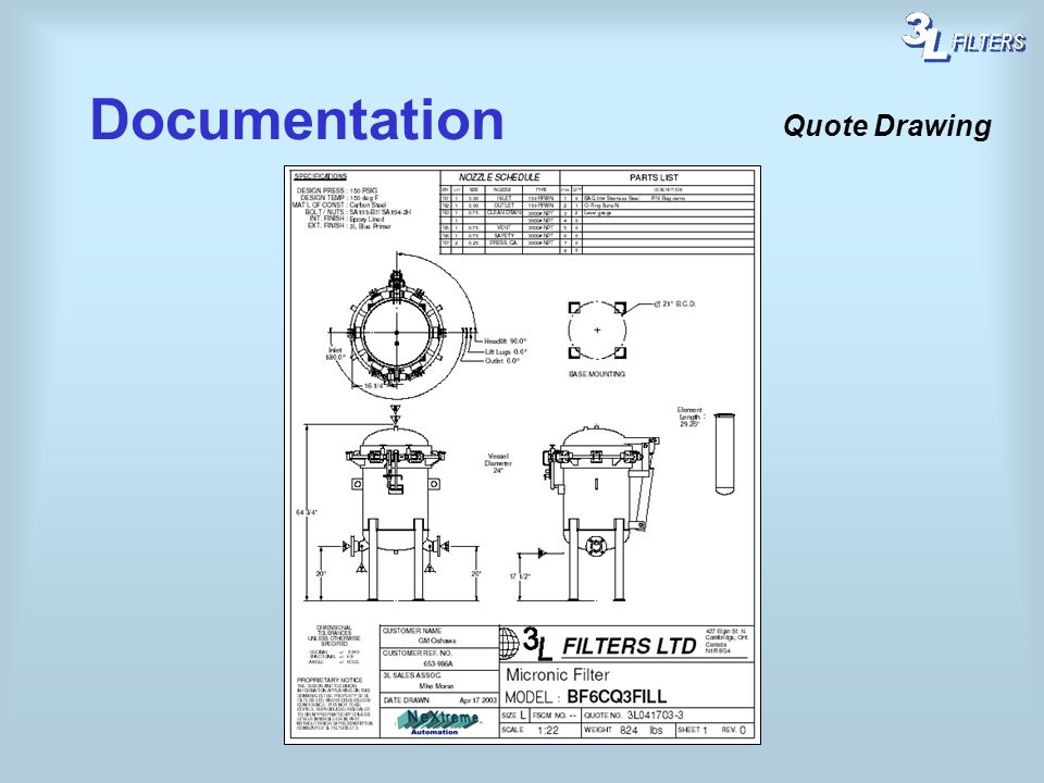 Documentation Quote Drawing