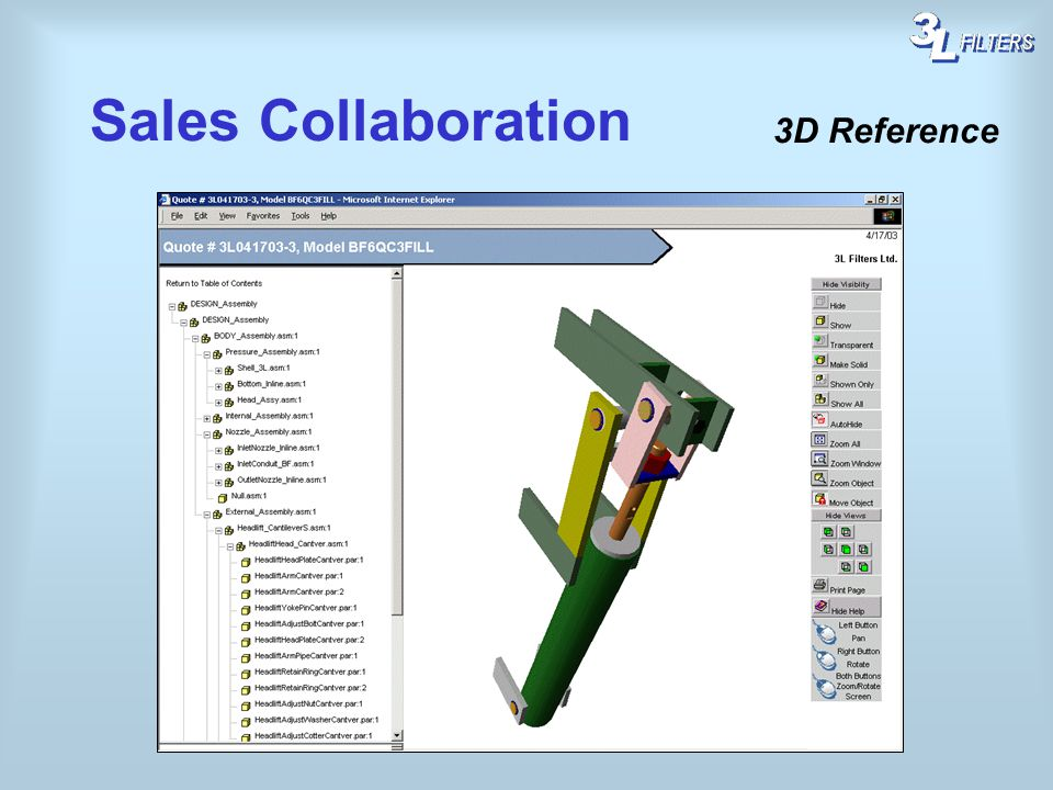 Sales Collaboration 3D Reference