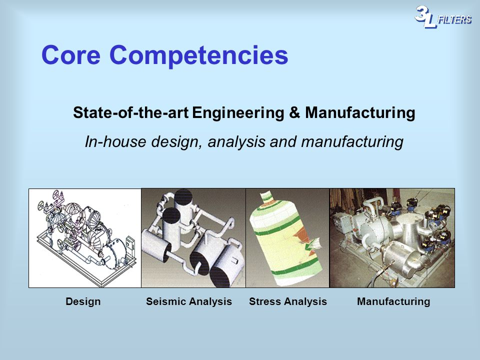 Core Competencies State-of-the-art Engineering & Manufacturing