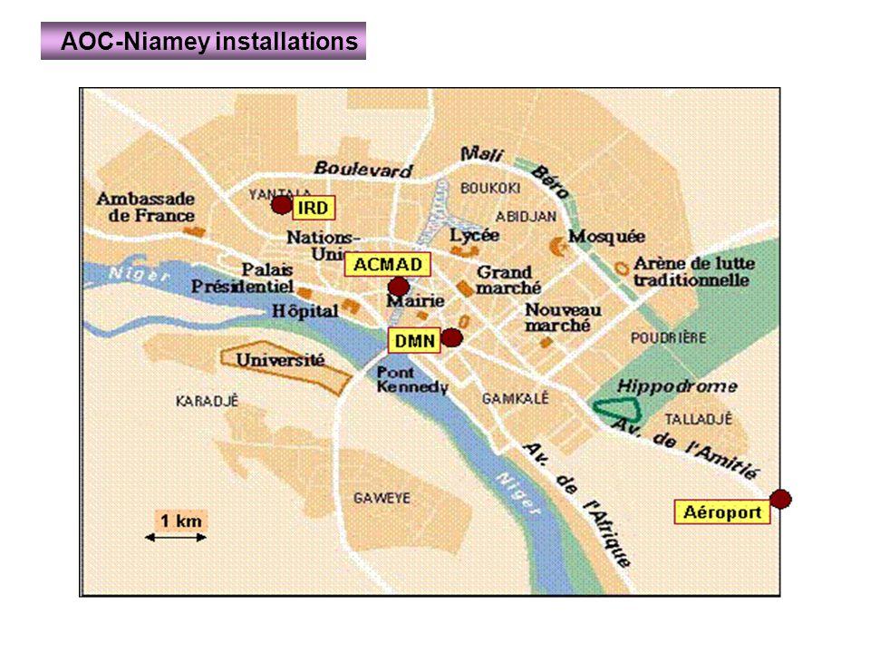 AOC-Niamey installations