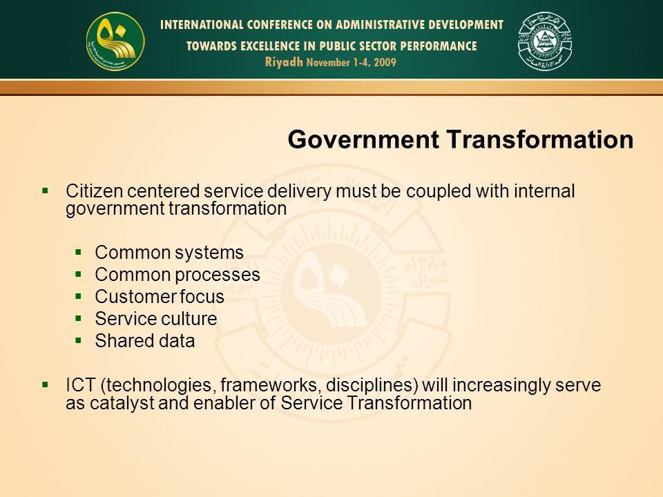 Government Transformation