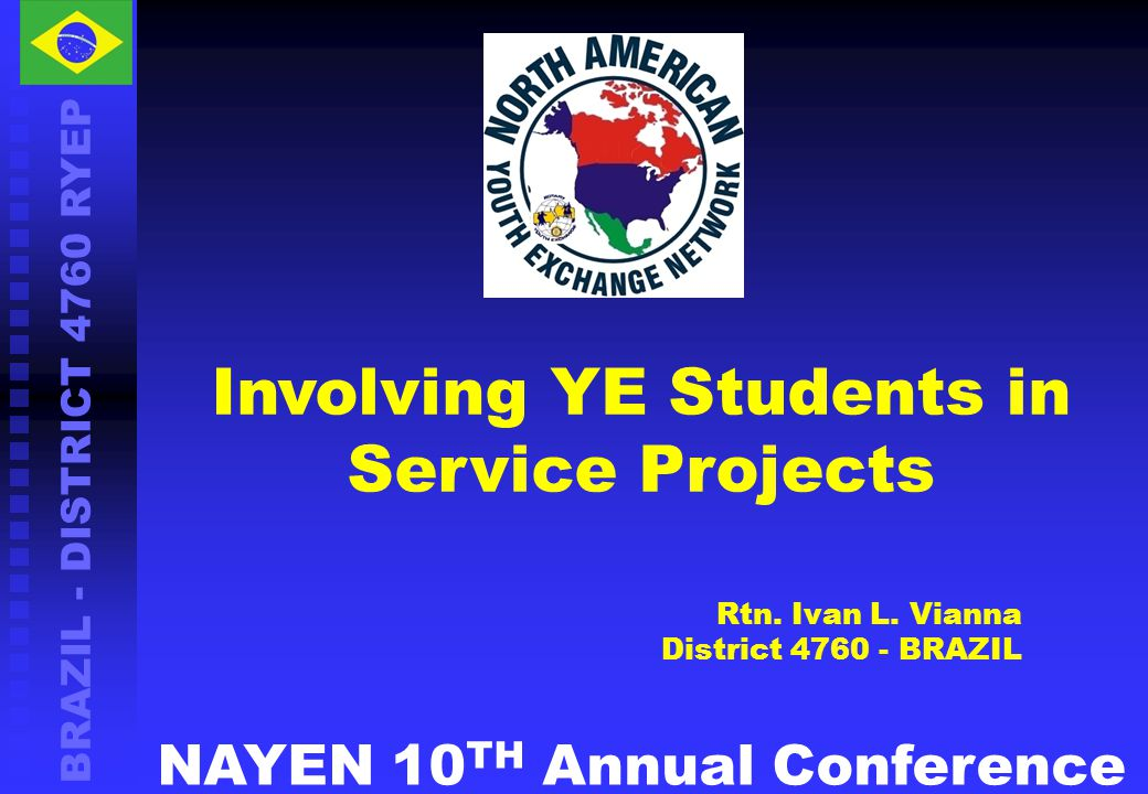Involving YE Students in Service Projects