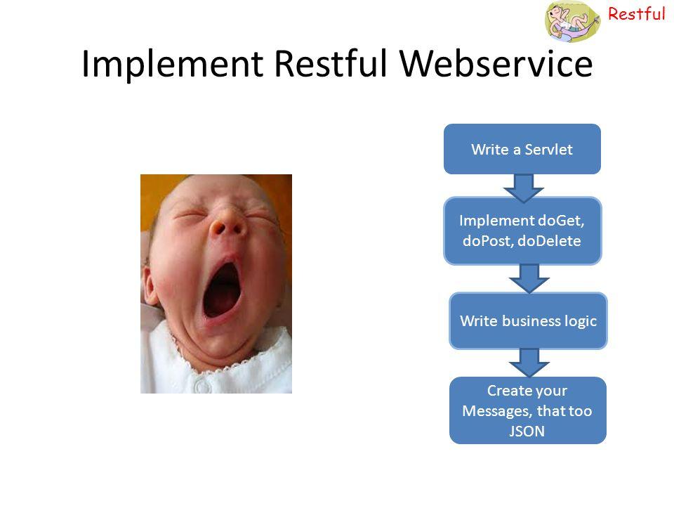 Implement Restful Webservice