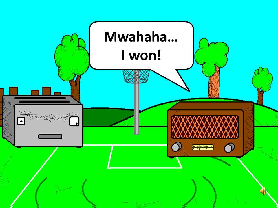 Mwahaha… I won!