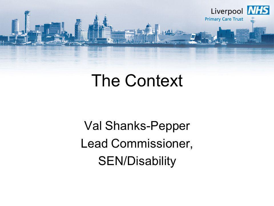 Val Shanks-Pepper Lead Commissioner, SEN/Disability
