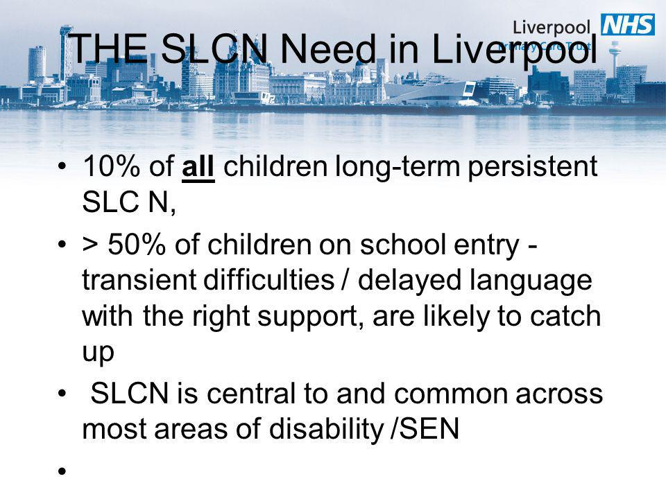 THE SLCN Need in Liverpool