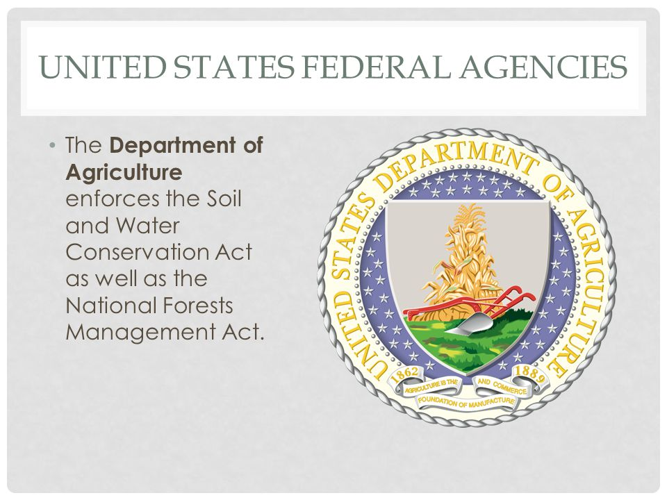 United States Federal Agencies