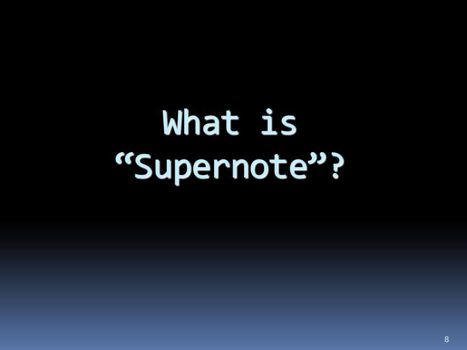 What is Supernote