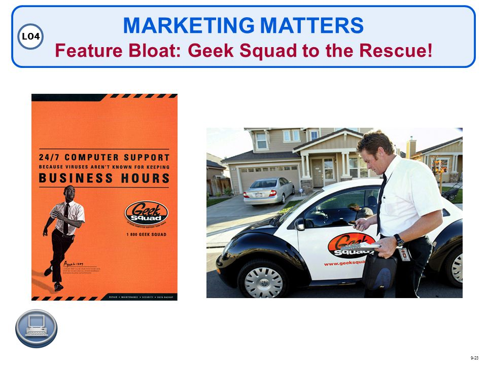 MARKETING MATTERS Feature Bloat: Geek Squad to the Rescue!