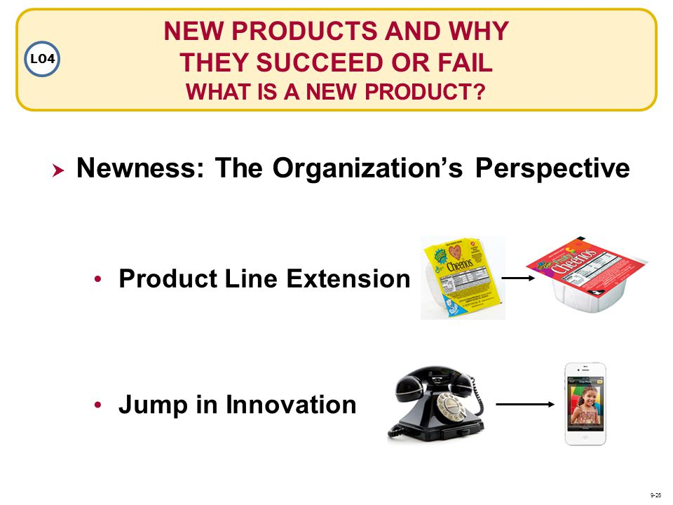 NEW PRODUCTS AND WHY THEY SUCCEED OR FAIL WHAT IS A NEW PRODUCT
