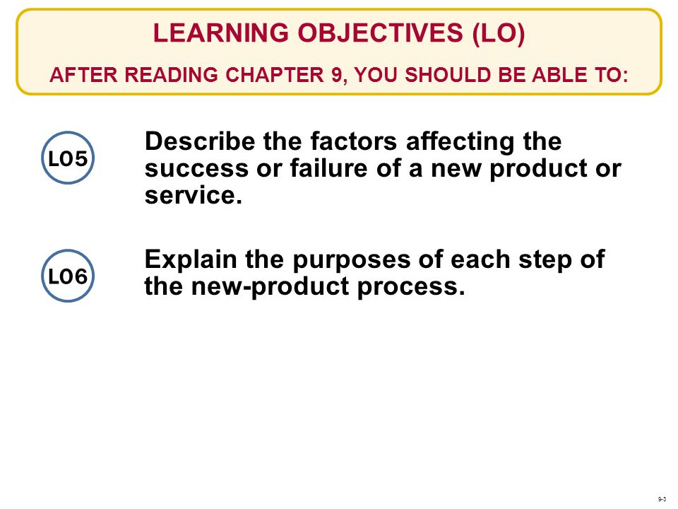 Explain the purposes of each step of the new-product process.