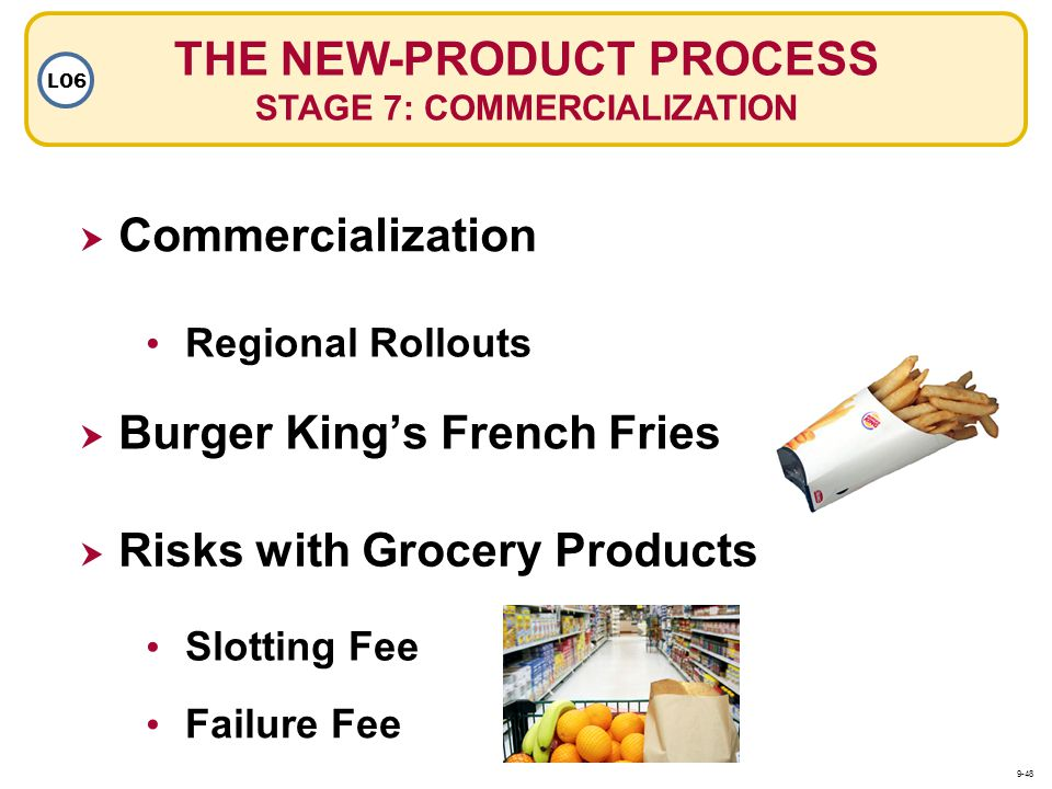 THE NEW-PRODUCT PROCESS STAGE 7: COMMERCIALIZATION