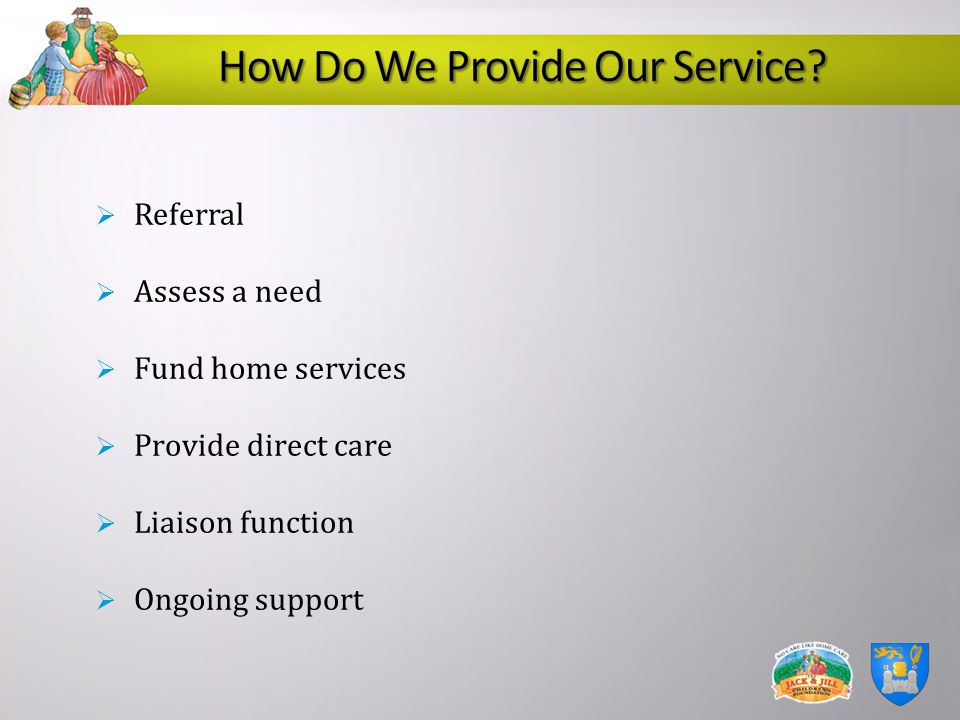 How Do We Provide Our Service