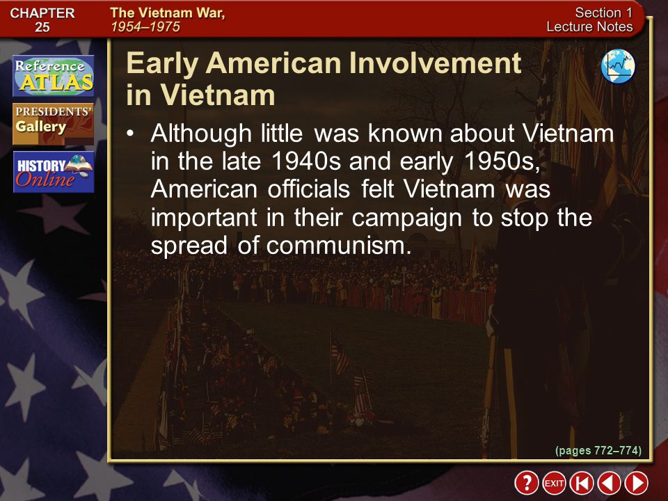 Early American Involvement in Vietnam