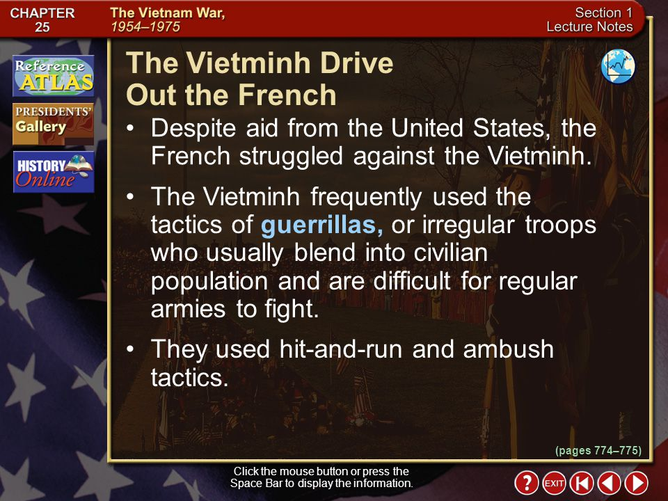 The Vietminh Drive Out the French