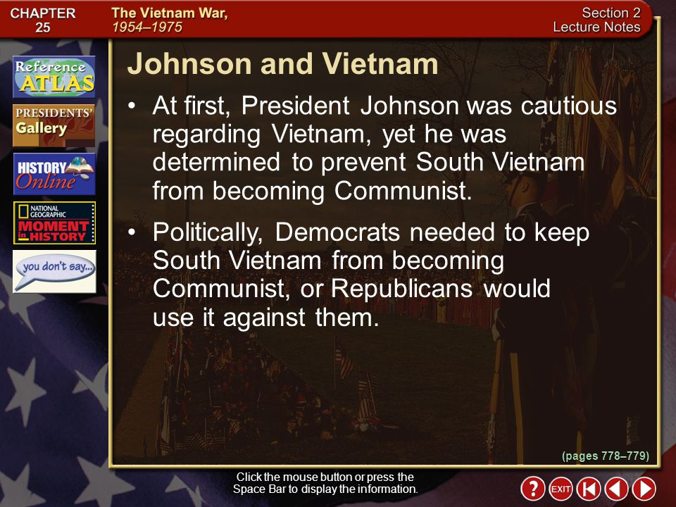 Johnson and Vietnam