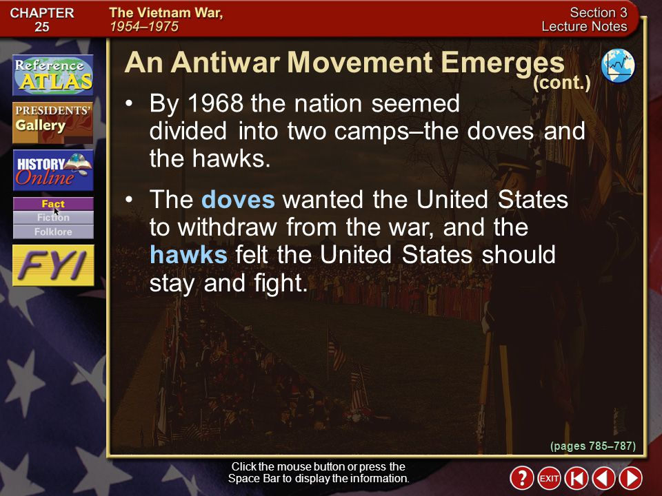 An Antiwar Movement Emerges