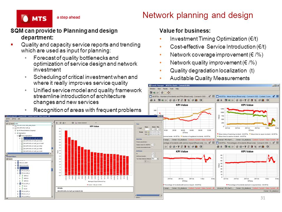 Network planning and design
