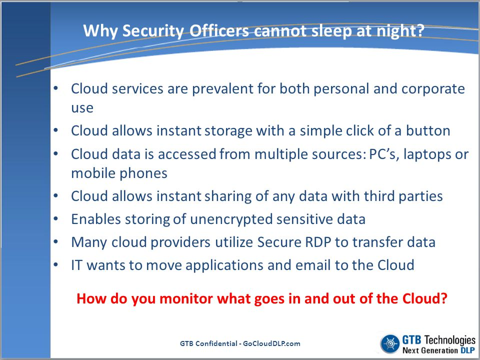 Why Security Officers cannot sleep at night