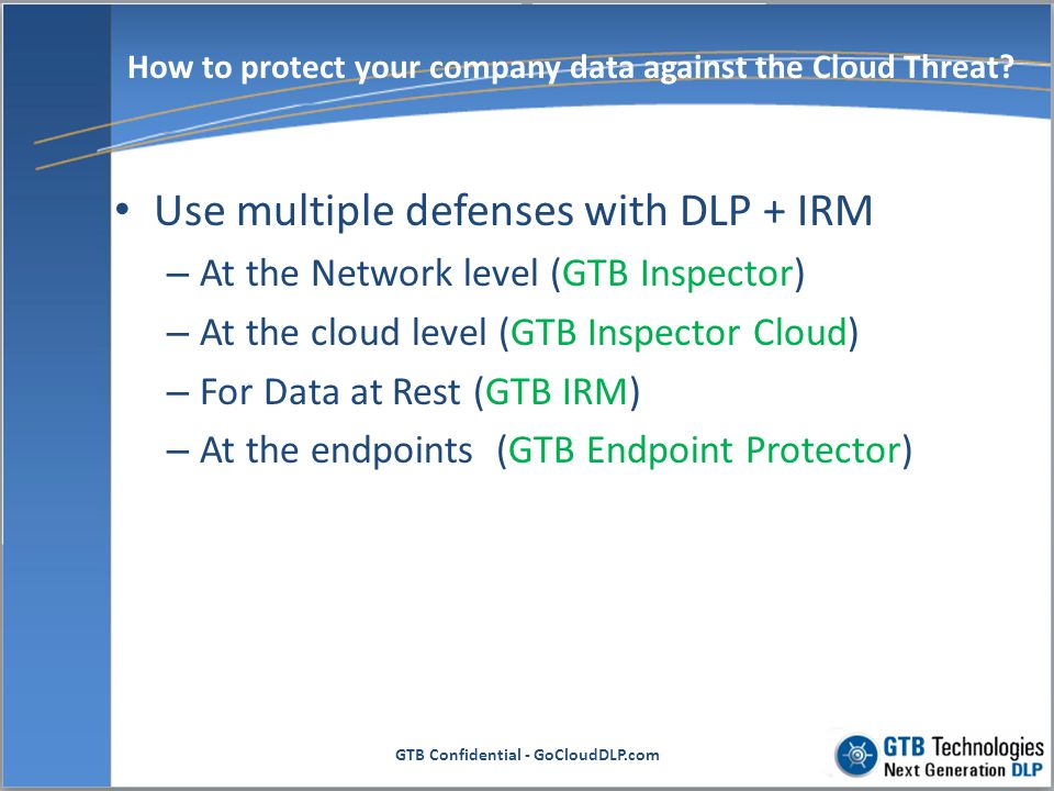 How to protect your company data against the Cloud Threat