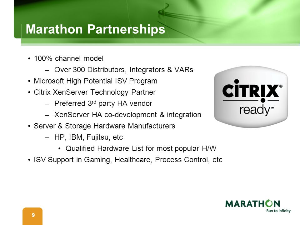 Marathon Partnerships