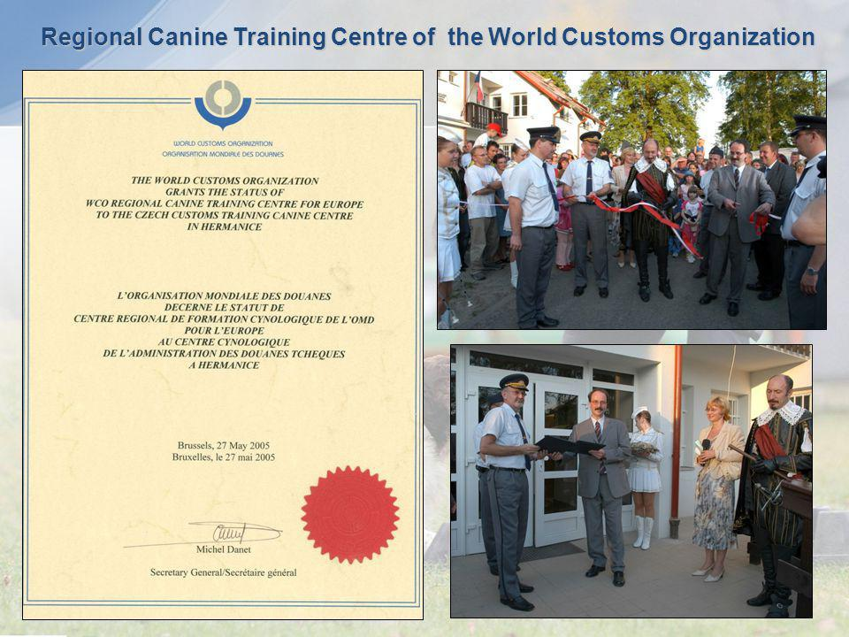 Regional Canine Training Centre of the World Customs Organization