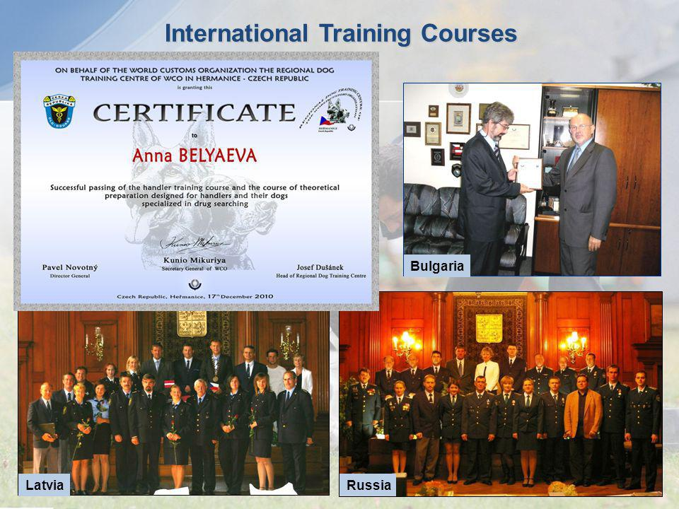 International Training Courses
