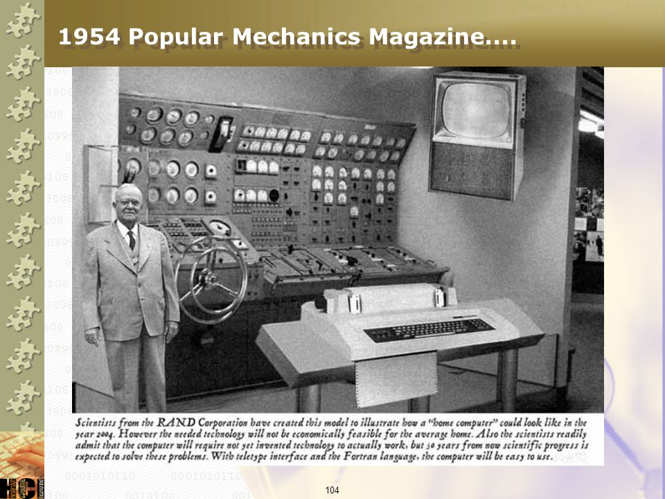 1954 Popular Mechanics Magazine....