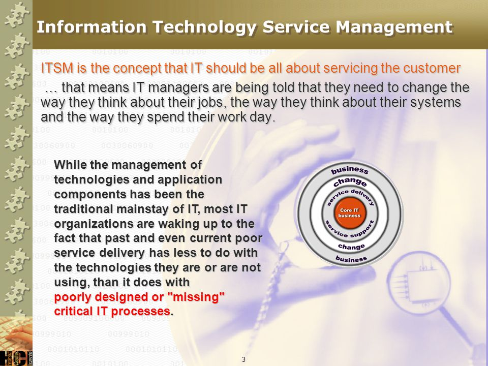 Information Technology Service Management