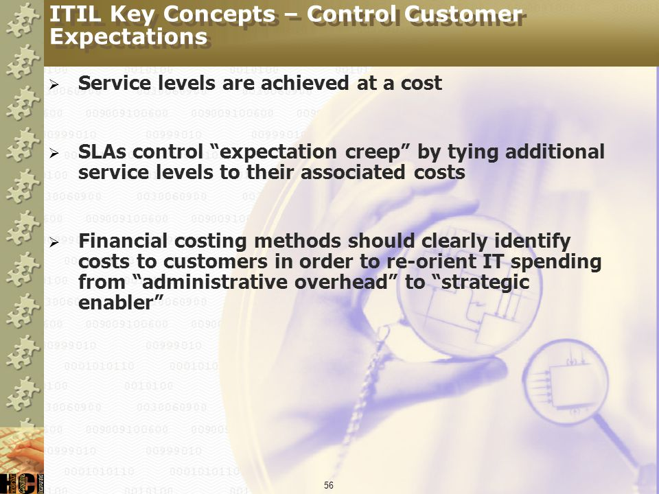 ITIL Key Concepts – Control Customer Expectations