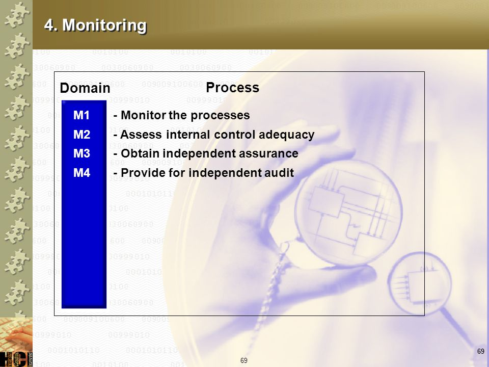 4. Monitoring Domain Process M1 M2 M3 M4 - Monitor the processes