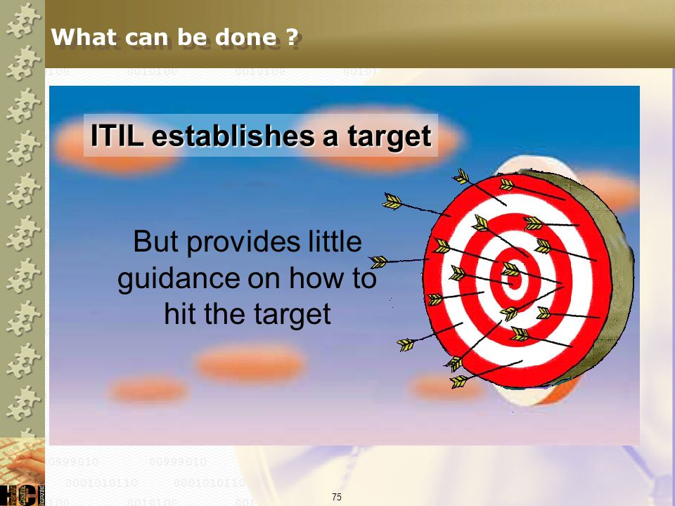 But provides little guidance on how to hit the target