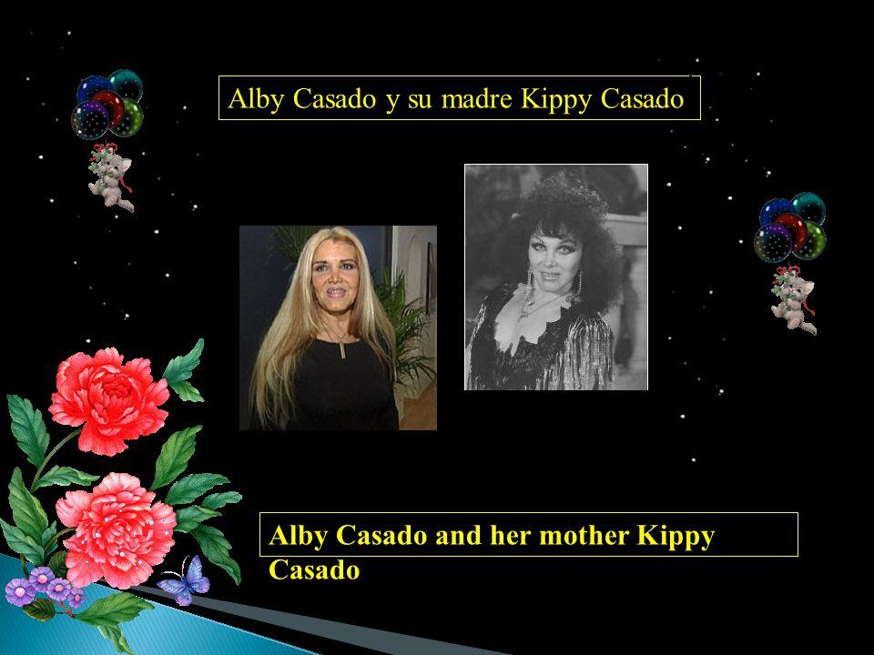 Alby Casado y su madre Kippy Casado