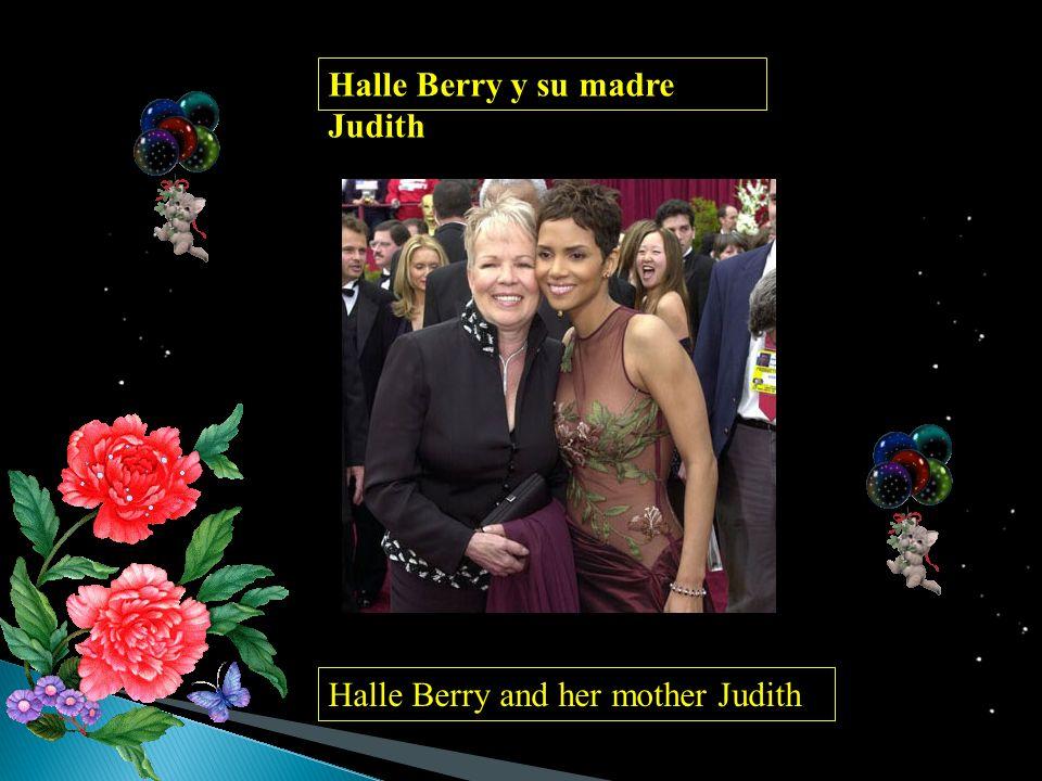Halle Berry y su madre Judith