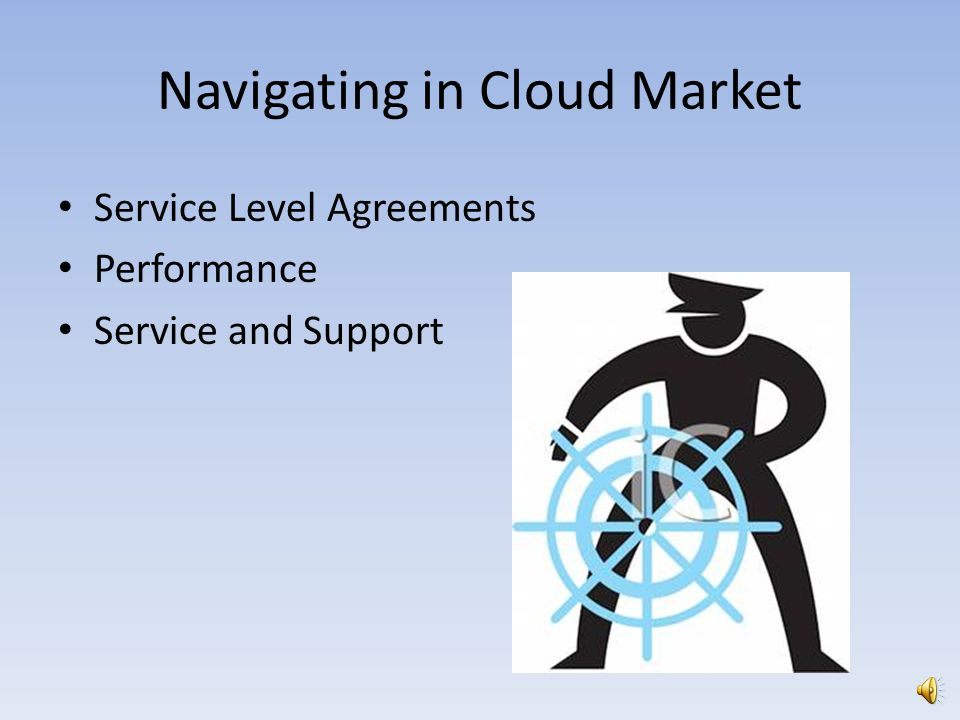 Navigating in Cloud Market