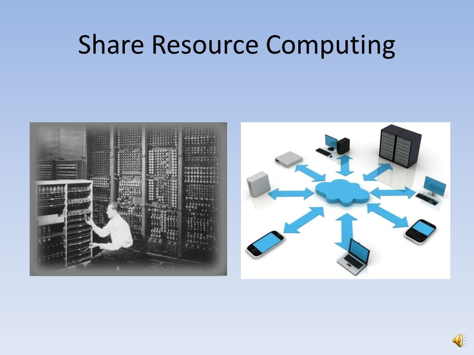 Share Resource Computing