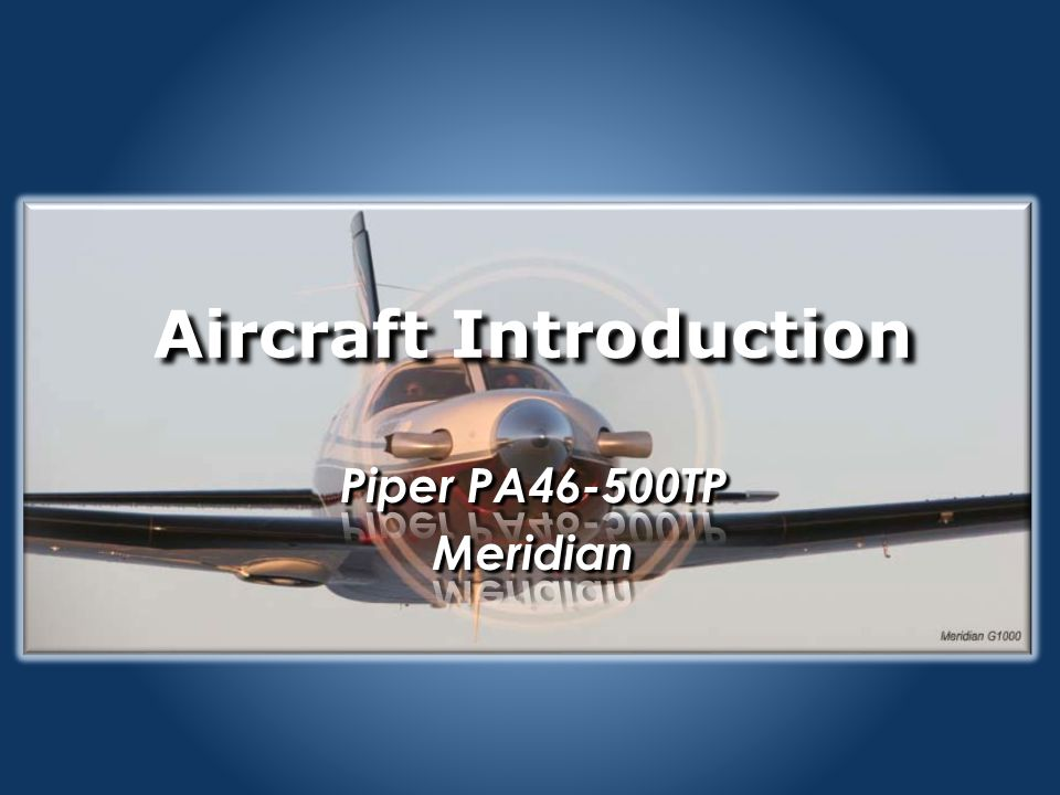 Aircraft Introduction