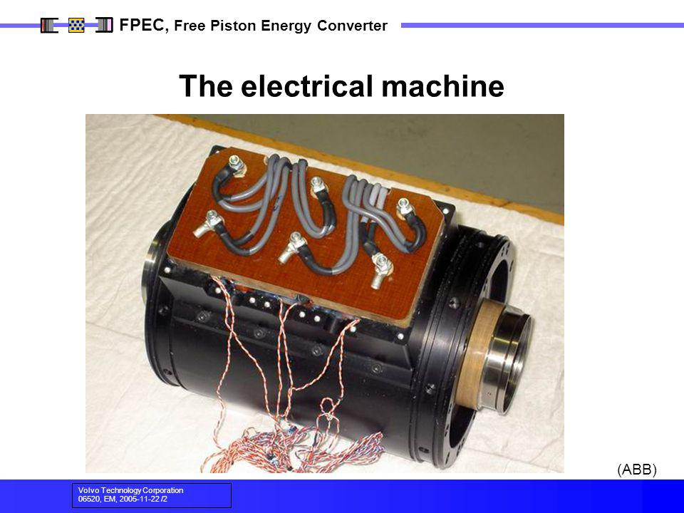 The electrical machine