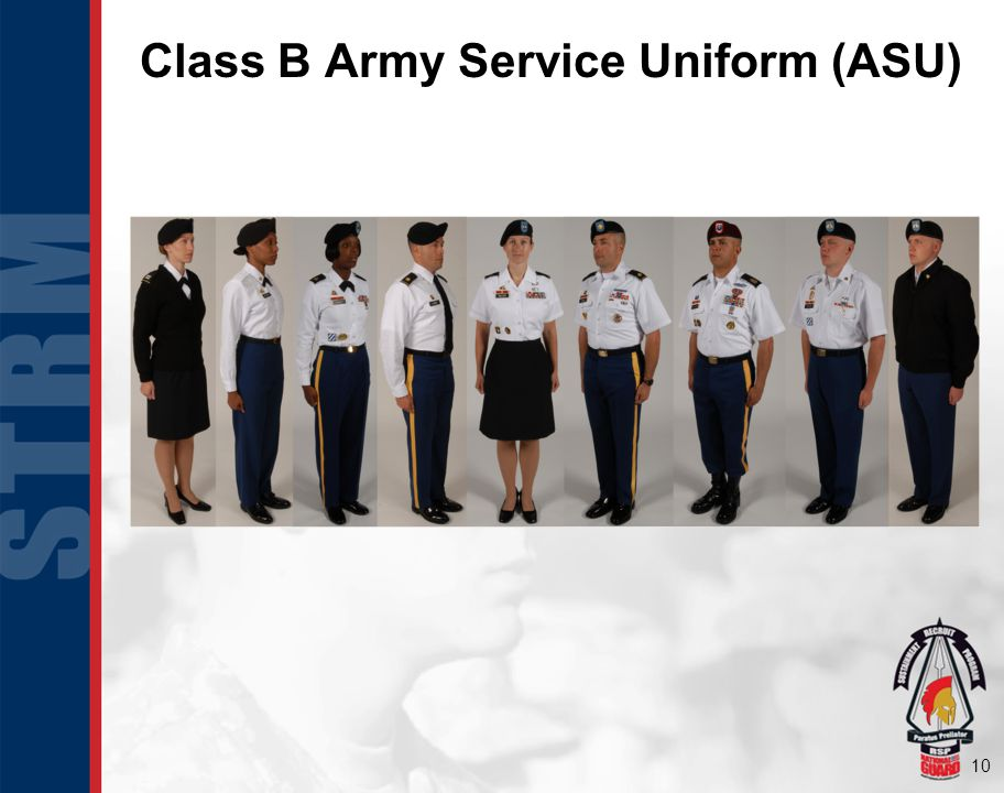 Class B Army Service Uniform (ASU)