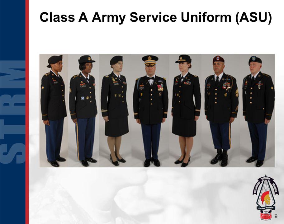 Class A Army Service Uniform (ASU)