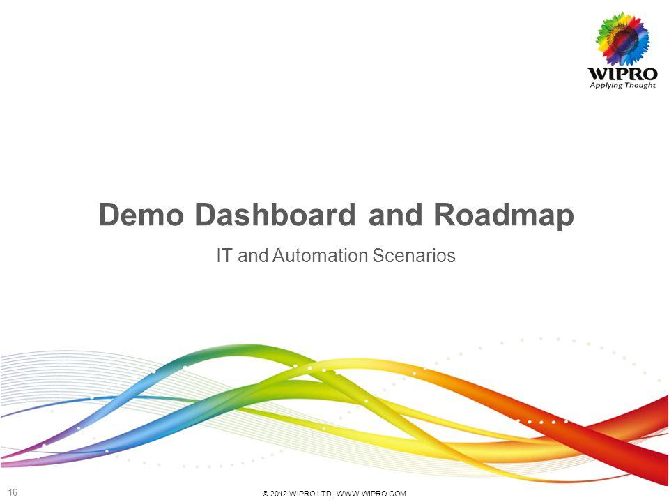 Demo Dashboard and Roadmap