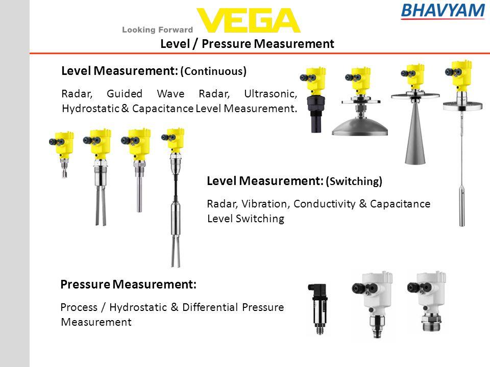 Level / Pressure Measurement