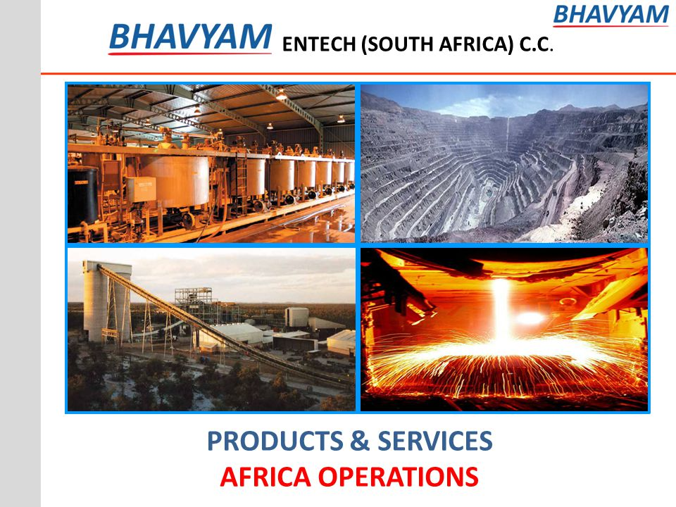 PRODUCTS & SERVICES AFRICA OPERATIONS