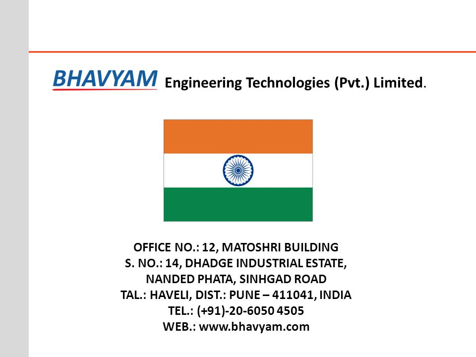 Engineering Technologies (Pvt.) Limited.